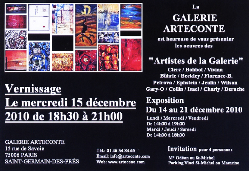vernissage-galerie-arteconte-paris-decembre-2010-john-beckley