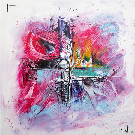 Tableau Abstrait Peinture Abstraite Sur Toile Moderne Et